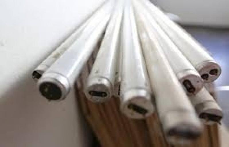 Descarte de Lâmpadas Fluorescentes Preço em Pirapora do Bom Jesus - Empresas de Descontaminação de Lâmpadas Fluorescentes