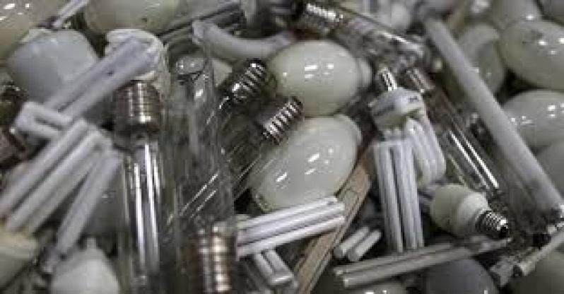 Descontaminação de Lâmpadas Fluorescentes Preço em Campinas - Empresas de Descontaminação de Lâmpadas Fluorescentes