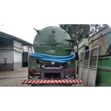 Coletas de resíduos líquidos em Araraquara