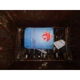 Descontaminação de resíduo em Amparo