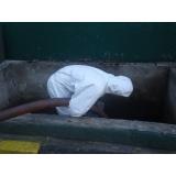 Descontaminação e descarte de resíduos contaminados