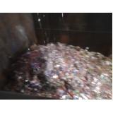 destruição de materiais inservíveis