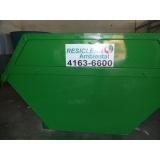Empresa para eliminação de resíduos