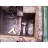 Limpeza de tanques e caixas separadoras
