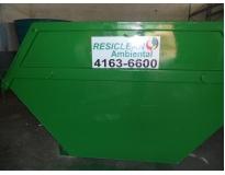 Quanto custa destinação de resíduos sólidos em Piracicaba