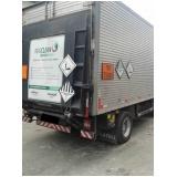 Transporte de resíduos industriais em Carapicuíba