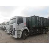 Transporte de resíduos sólidos em Amparo