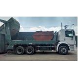 Transportes de resíduos sólidos urbanos em Francisco Morato