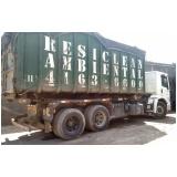 Transportes de resíduos em Jandira
