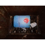 Tratamento e descontaminação de resíduo sólido em Araçatuba