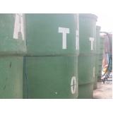Tratamento de resíduos e efluentes