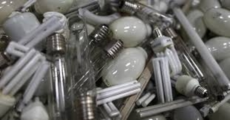 Tratamento de Lâmpadas Preço em Votuporanga - Empresas de Descontaminação de Lâmpadas Fluorescentes
